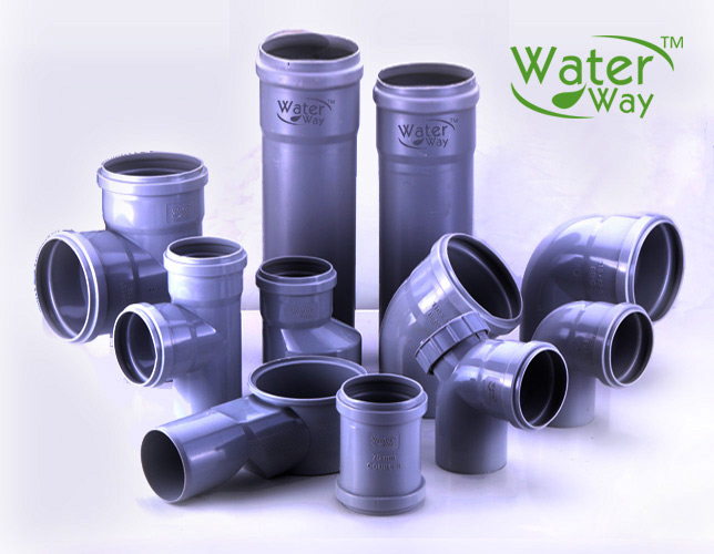 SWR (Polyvinyl) Drainage and Sewerage Pipe Manufacturers